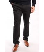 Pánske elastické športovo-elegantné nohavice ENZO 7666 - čierne