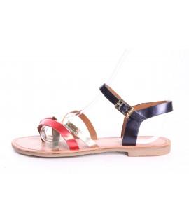 619a244c07e3f Dámske kožené sandále s.Oliver (5-28104-22 598) - červeno