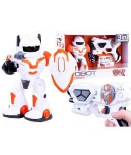 Interaktívny robot Dominator s pištoľou