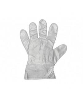 Jednorázové mikroténové HDPE rukavice 100ks balenie