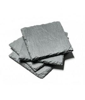 Kamenná podtácka 10x10cm - 4ks