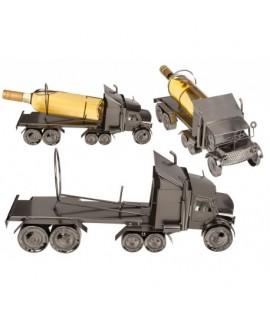 Kovový stojan na víno - nákladné auto