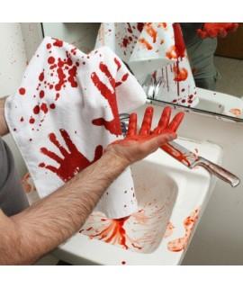 Krvavý uterák 74x40cm