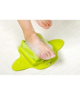 Masážna kefa na nohy - zelená