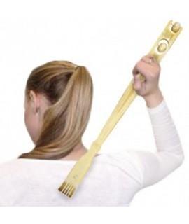 Masážne bambusové škrabadlo na chrbát