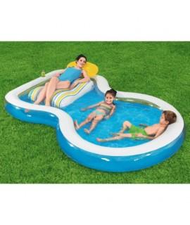 Nafukovací bazén so sedačkou 279x234cm - Bestway