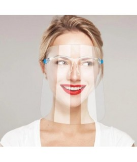 Ochranný štít 2v1 s okuliarmi
