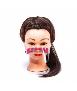 Ochranný štít na ústa a nos pre deti Ružová
