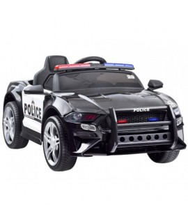 PA0218 Elektrické autíčko Polícia kabriolet