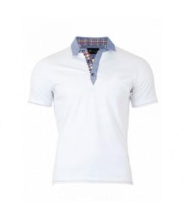 Pánske Polo tričko biele VS-PO 1909 S