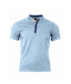 Pánske Polo tričko bledo modré VS-PO 1914 S