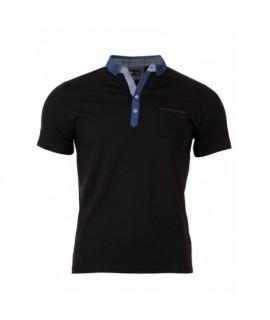 Pánske Polo tričko čierne VS-PO 1907 S