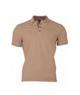 Pánske Polo tričko hnedé VS-PO 1912 S