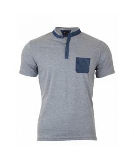 Pánske Polo tričko sivé VS-PO 1904 S