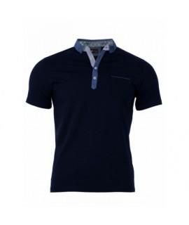 Pánske Polo tričko tmavo modré VS-PO 1908 S
