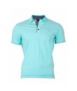 Pánske Polo tričko - tyrkysovo zelené VS-PO 1906 XS
