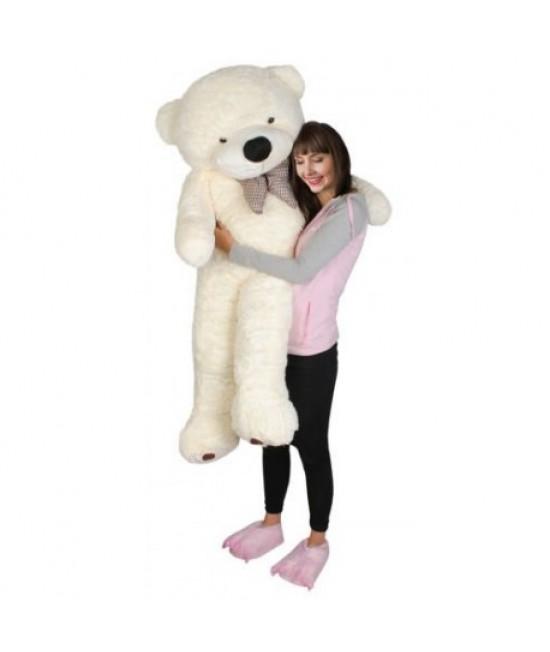 Plyšový medvedík 160 cm Biela