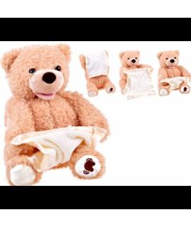 Plyšový medvedík Peek-a-boo - hra na schovávačku