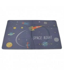 Podložka na hranie Space Night 180x120cm