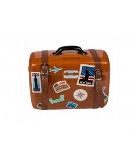 Pokladnička cestovný kufor s prackami