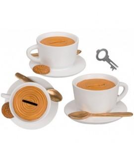 Pokladnička šálka kávy