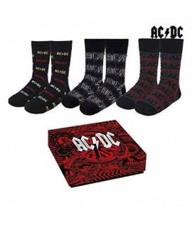 Ponožky ACDC v krabičke 3 kusy