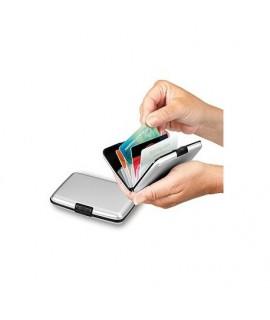 Puzdro na kreditné karty a vizitky Červená