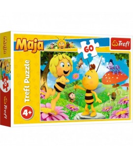 Puzzle včielka Maja - 60 dielikov