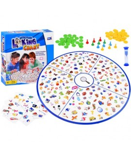 Rodinná detektívna hra - Looking Chart