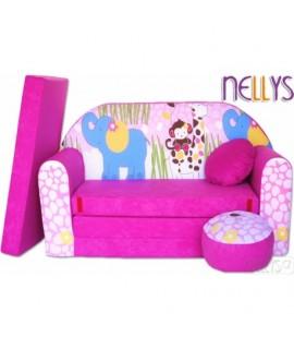 Nellys Rozkladacia detská pohovka 23R