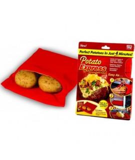 Sáčok na varenie zemiakov v mikrovlnke