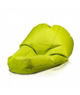 Sedací vak ECOPUF - ACTIVE - polyester NC1 - Svetlo zelená