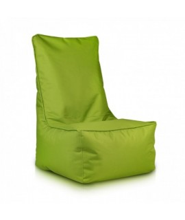Sedací vak Ecopuf - ELEGANT polyester NC1 - Svetlo zelená