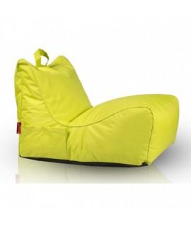 Sedací vak Ecopuf - FLAVIO polyester NC1 - Svetlo zelená