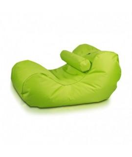 Sedací vak Ecopuf - HOGAN - polyester NC1 - Svetlo zelená