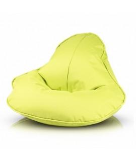 Sedací vak ECOPUF - FROG - polyestér NC1 - Svetlo zelená