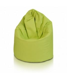 Sedací vak ECOPUF - GIGA SAKO - polyestér NC1 - Svetlo zelená