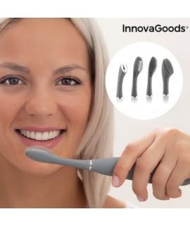Silikónová zvuková kefka na tvár a zuby Klinfor InnovaGoods