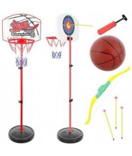 Športové hry 2v1 - basketbal a lukostreľba