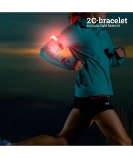 Športový bezpečnostný LED pásik