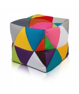 Taburetka - CUBE - S polyestér farebný