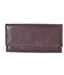 Čašnícka peňaženka - tmavohnedá(C18-R64) 19x10 cm
