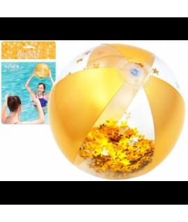 Trblietavá plážová lopta Glamour Bestway 41 cm