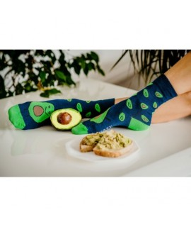 Veselé ponožky HESTY - Avokádo 35-38