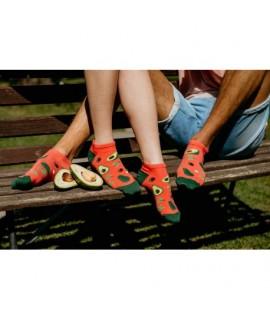 Veselé ponožky Hesty - Avokádo členkové 35-38