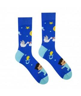 Veselé ponožky HESTY - Chlapček 35-38