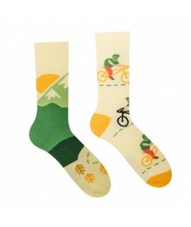 Veselé ponožky Hesty - Cyklista 35-38