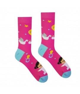 Veselé ponožky HESTY - Dievčatko 35-38