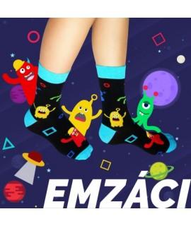 Veselé ponožky HESTY - Emzáci 35-38