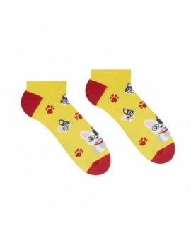 Veselé ponožky Hesty - Francúzsky buldoček – členkové 35-38